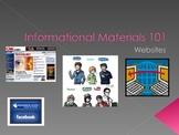Structure  Informational Materials: Websites