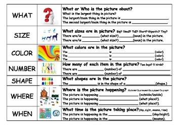 Structure Words Graphic Organizer