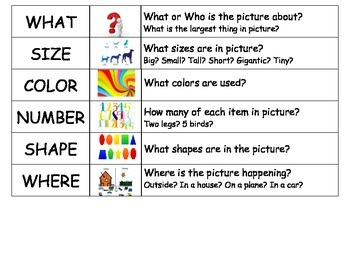 Structure Words with first 6 Visual or Flashcards