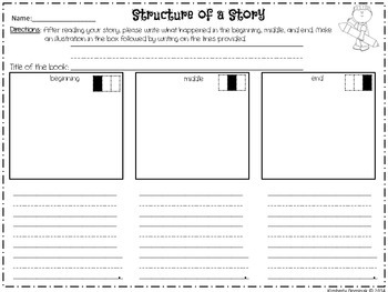 Structure of a Story template