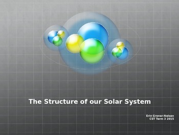 Structure of our Solar System Power Point