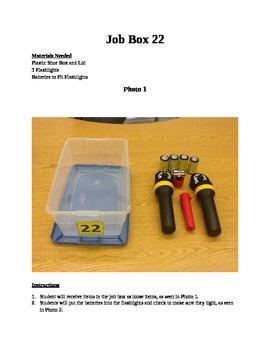 Structured Teaching Job Box 22