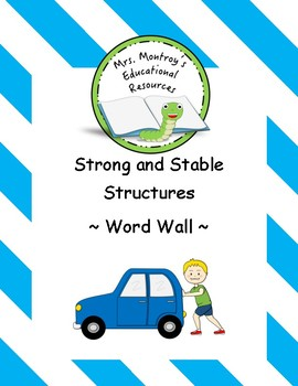 Structures - Word Wall