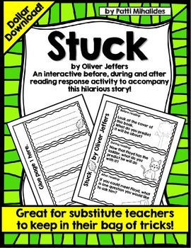 """Stuck"" by Oliver Jeffers: An Interactive Reading Response"