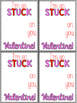 Stuck on You Valentine's Day Cards - Freebie!