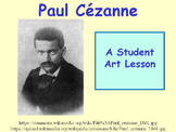 Student Art Lesson Paul Cézanne (PowerPoint)