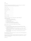 Student Assessment Parent  Letter