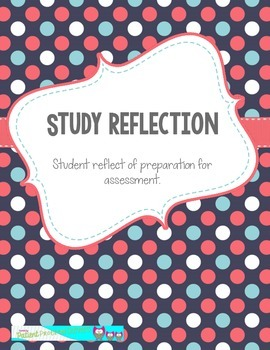 Student Assessment Reflection **FREEBIE**