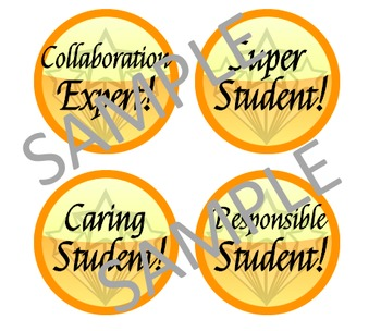 Student Badges - General & Literacy