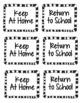Student Binder & Take Home Folder Covers - Zoo Theme