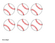 Student Birthday Baseballs