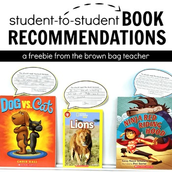 Student Book Reviews & Recommendations