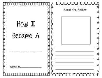 "Student Books: Organizer to use with ""How I Became a Pirate"""