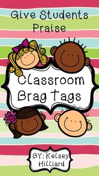 Student Behavior Brag Tags