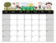 Student Calendar August 2016- July 2017