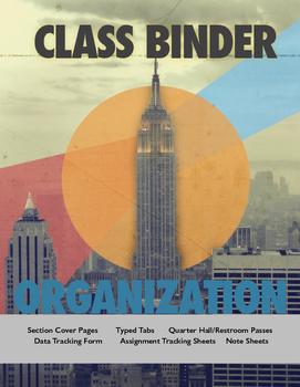 Student Class Binder & Classroom Management System