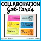 Student Collaboration Job Cards FREEBIE