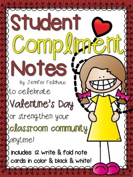 Valentine's Day Student Compliments