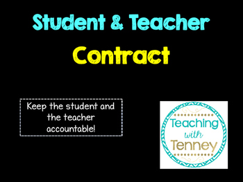 Student Contract