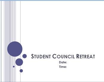 FREE - Student Council Retreat Pkg (Parent Letters, Schedu
