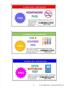 Student Coupon Booklet  2016-2017