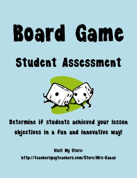 Student Created Board Game for Social Studies Common Core