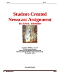 Student-Created Newscast Assignment (editable)