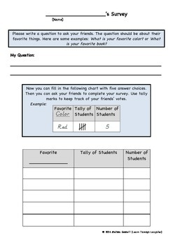 Student Created Survey and Bar Graph