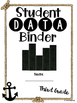 Student Data Binder, Graphs, Goals and Reflection: Anchor
