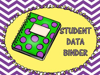 Student Data Binder...Students Keep Track of Their Own Learning