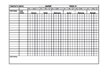 Student Data Collection Sheet