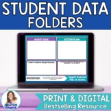 Student Data Folder-Goal Setting, Data Tracking Charts, an