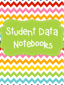 Student Data Notebook with Goal tracker