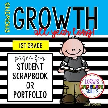 Student Data Portfolio / Scrapbook 1st GRADE