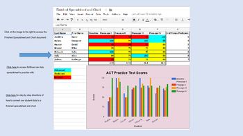 Student Data Spreadsheet - Google Sheets