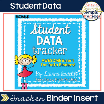 Student Data Tracker Form [FREE] - Sassy, Savvy, Simple Teaching