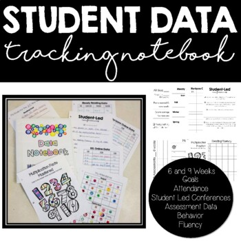 Student Data and Goal Tracking Notebook