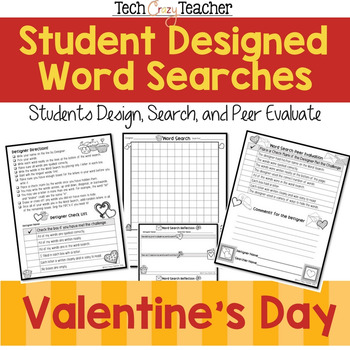 Student Designed Word Search Collaborative Project: Valent