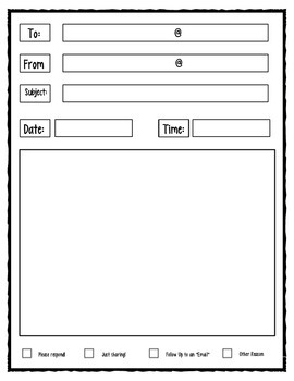 Student Email Form