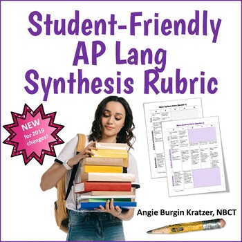Student-Friendly AP Synthesis Essay Rubric