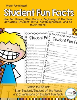 Student Fun Facts
