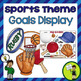 Student Goal Display BUNDLE! Sport, Frog AND Balloon Themed