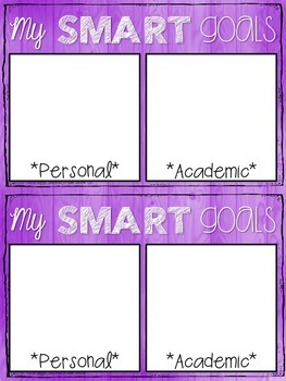 Student Goal FREEBIE