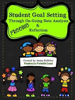 Student Goal Setting Through Reflection & Data Analysis-FREEBIE