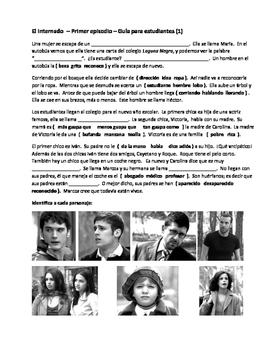 Student Guide (post-viewing) Episode 1 El Internado (Season 1)