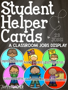 Student Jobs {Classroom Display}