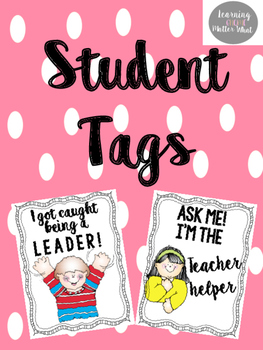 Student Leader and Helper