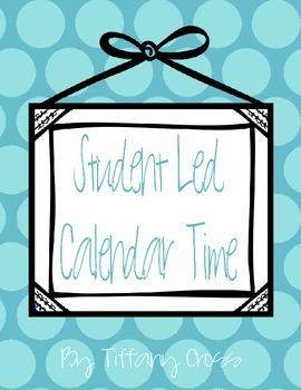 Student Led Calendar Time