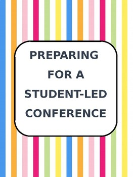 Student-Led Conference Packet Editable