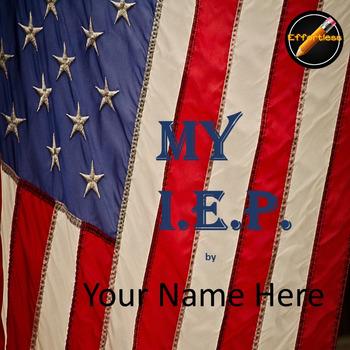 Student Led I.E.P.Meeting Editable Power Point/PDF: Americ